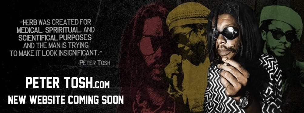 New PeterTosh.com Coming Soon...