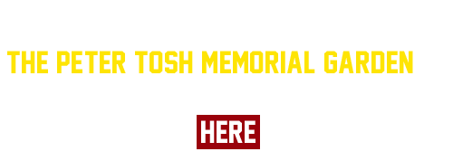 Support the recognition of the Peter Tosh Memorial Garden as a national historic landmark. Add your name here: