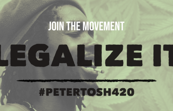 Celebrate International Peter Tosh Day by supporting Cannabis Legalization & Senator Booker's Marijuana Justice Act