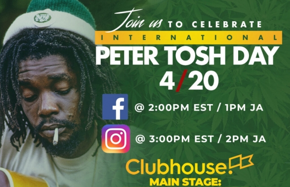 Join us to celebrate International Peter Tosh Day 4/20